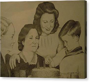 Jack's Birthday Canvas Print