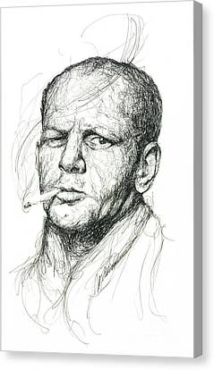 Jackson Pollock Canvas Print
