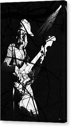 Canvas Print featuring the digital art Jaco by Ken Walker