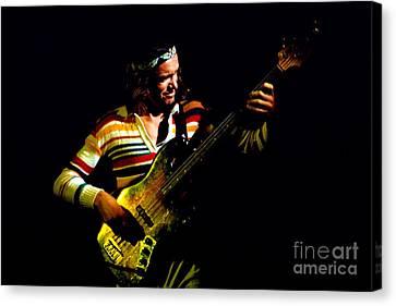 Jaco Pastorius - Weather Report D6 Canvas Print by Vintage Rock Photos