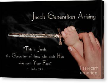 Jacob Generation Arising 2 Canvas Print by Constance Woods