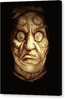 Jacob Marley Canvas Print by Fred Larucci