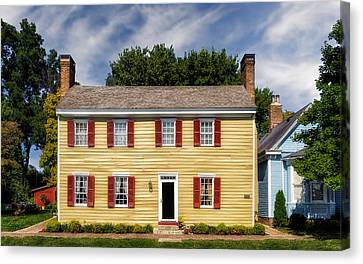 Jacob Rizer House - Bardstown - 1812 - 1 Canvas Print by Frank J Benz