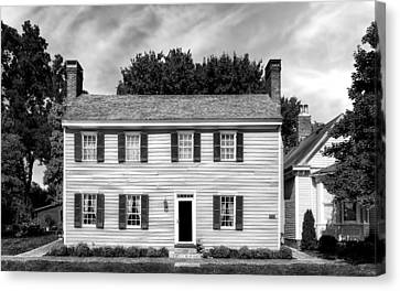 Jacob Rizer House - Bardstown - 1812 - 2 Canvas Print by Frank J Benz