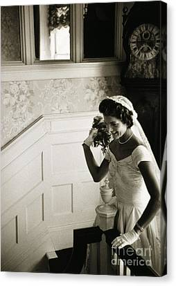 Jacqueline Kennedy Canvas Print by Granger