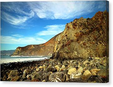 Jade Beach View North Canvas Print