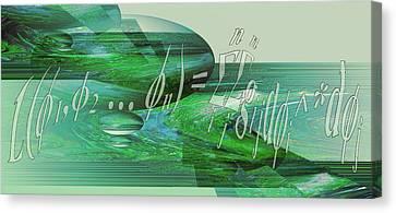 Jade Enigma Canvas Print