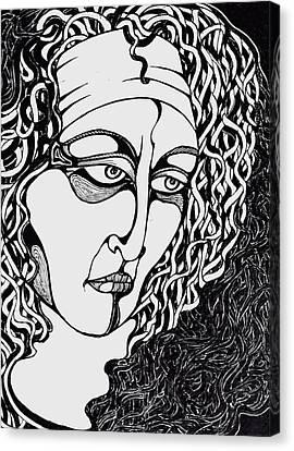 Jaded Canvas Print by Rae Chichilnitsky