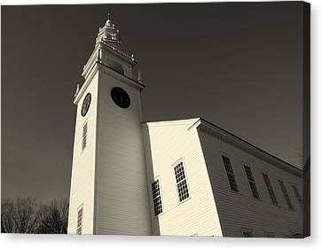 Jaffrey Meetinghouse Canvas Print
