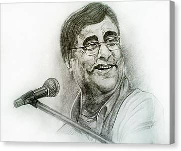Jagjit Singh Canvas Print by Mayur Sharma