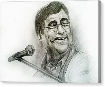 Jagjit Singh Canvas Print by Mayur Sharma