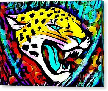 Jags Head Canvas Print by Clint Day