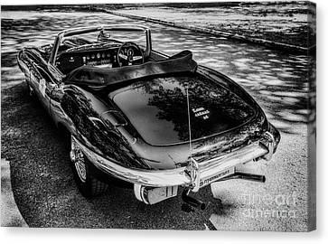 Jaguar E-type 4.2 Canvas Print