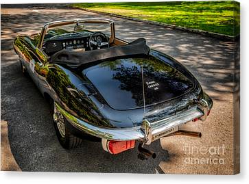 Jaguar E-type Canvas Print