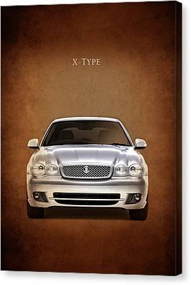 Jaguar X Type Canvas Print