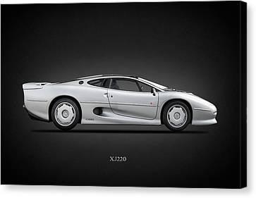 Jaguar Xj220 1992 Canvas Print