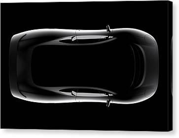Jaguar Xj220 - Top View Canvas Print