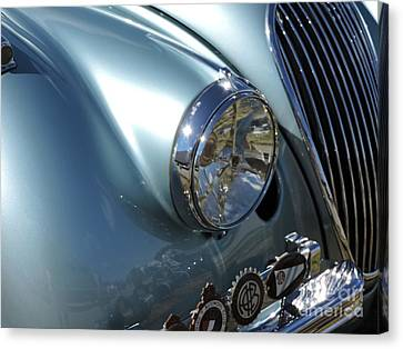 Jaguar Xk-120 Canvas Print