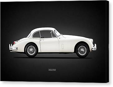 Jaguar Xk150 Canvas Print