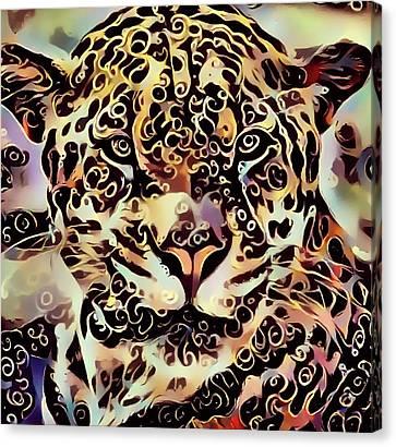 Interior Still Life Canvas Print - Jaguar by Yury Malkov