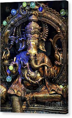 Jai Ganesh Canvas Print by Tim Gainey