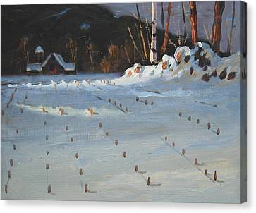 Jajko's Place Canvas Print by Len Stomski