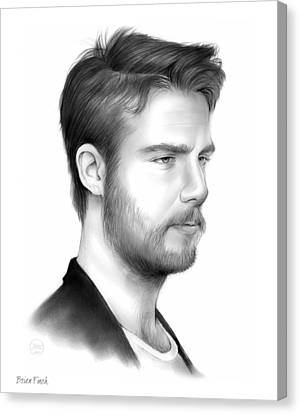 Finch Canvas Print - Jake Mcdorman by Greg Joens