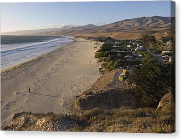 Jalama Campground And Beach. Pacific Canvas Print by Rich Reid