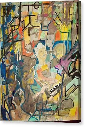 Jam Canvas Print by James Christiansen