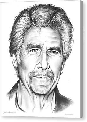 James Brolin Canvas Print by Greg Joens