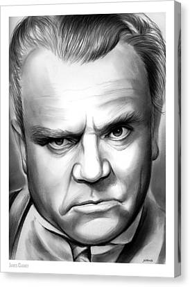 James Cagney Canvas Print by Greg Joens