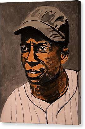Negro Leagues Canvas Print - James Cool Papa Bell by Ralph LeCompte