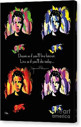 James Dean Canvas Print by Mo T