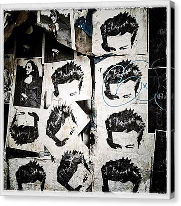 Instamood Canvas Print - James Dean by Natasha Marco