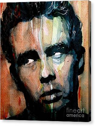 Celebrities Canvas Print - James Dean by Paul Lovering