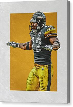 James Harrison Pittsburgh Steelers Art 2 Canvas Print