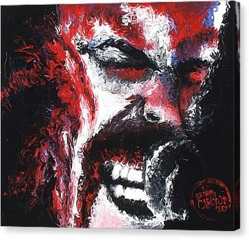 James Hetfield Canvas Print by Brian Carlton