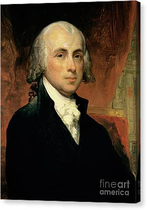 James Madison Canvas Print by American School