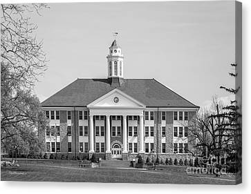 James Madison Canvas Print - James Madison University Wilson Hall by University Icons