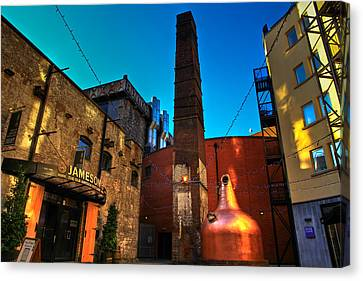 Jameson Distillery Canvas Print by Justin Albrecht