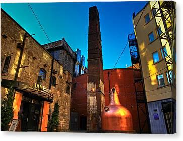 Ireland Canvas Print - Jameson Distillery by Justin Albrecht