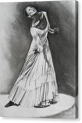 Jamison Canvas Print by Toni  Thorne