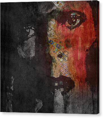 Jamming Good With Wierd And Gilly Canvas Print by Paul Lovering