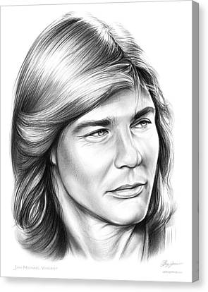 Jan Michael Vincent Canvas Print by Greg Joens