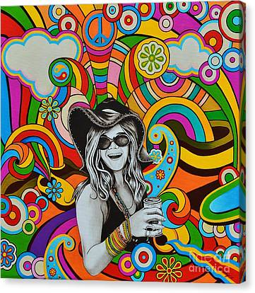 Janis In Wonderland Canvas Print