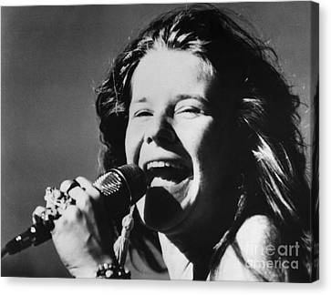 Janis Joplin (1943-1970) Canvas Print by Granger