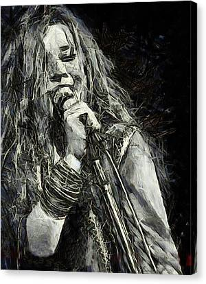 Janis Joplin 1969 Canvas Print