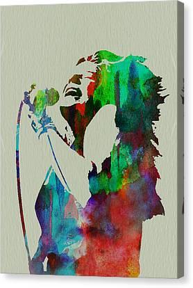 Janis Joplin Canvas Print by Naxart Studio