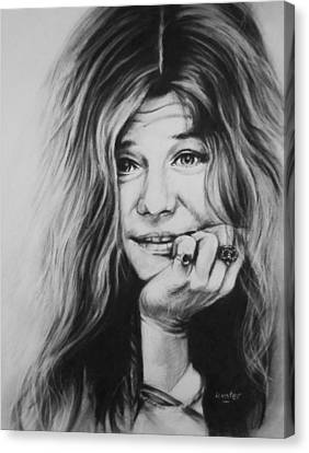 Janis Joplin Canvas Print by Steve Hunter