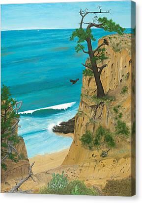 January At Torrey Pines Canvas Print